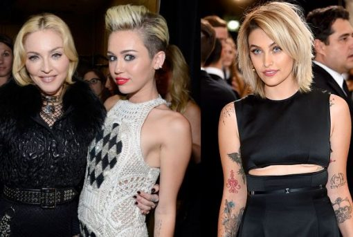 Miley Cyrus Paris Jackson Feud